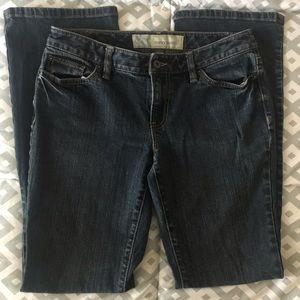 Loft curvy boot jeans 6